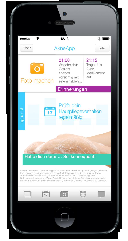 Dating-Tagebuch App