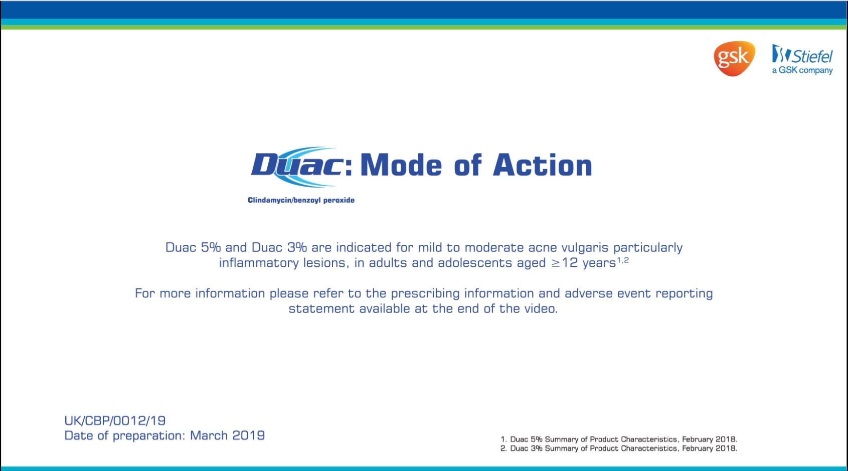 Duac – Mode of Action