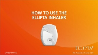 How to use Ellipta video