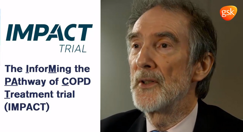 IMPACT trial in COPD