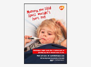 Chickenpox disease awareness - leaflet