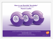 How to use Seretide Accuhaler patient leaflet pad