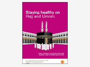 Pilgrim travel health disease awareness booklet
