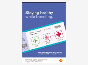 Travel health disease awareness leaflet