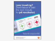Travel health disease awareness poster