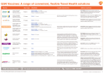 Travel vaccines dosing schedule