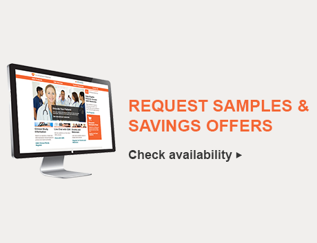Request Samples and Savings Offers