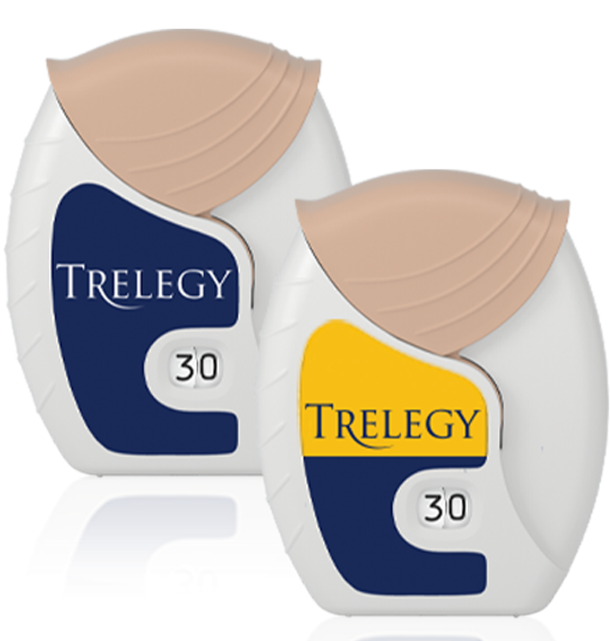TRELEGY ELLIPTA device
