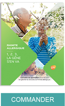 Commander la brochure rhinite allergique