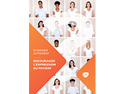ECHANGER AUTREMENT : Encourager l'expression du patient