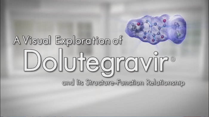 A visual exploration of Dolutegravir
